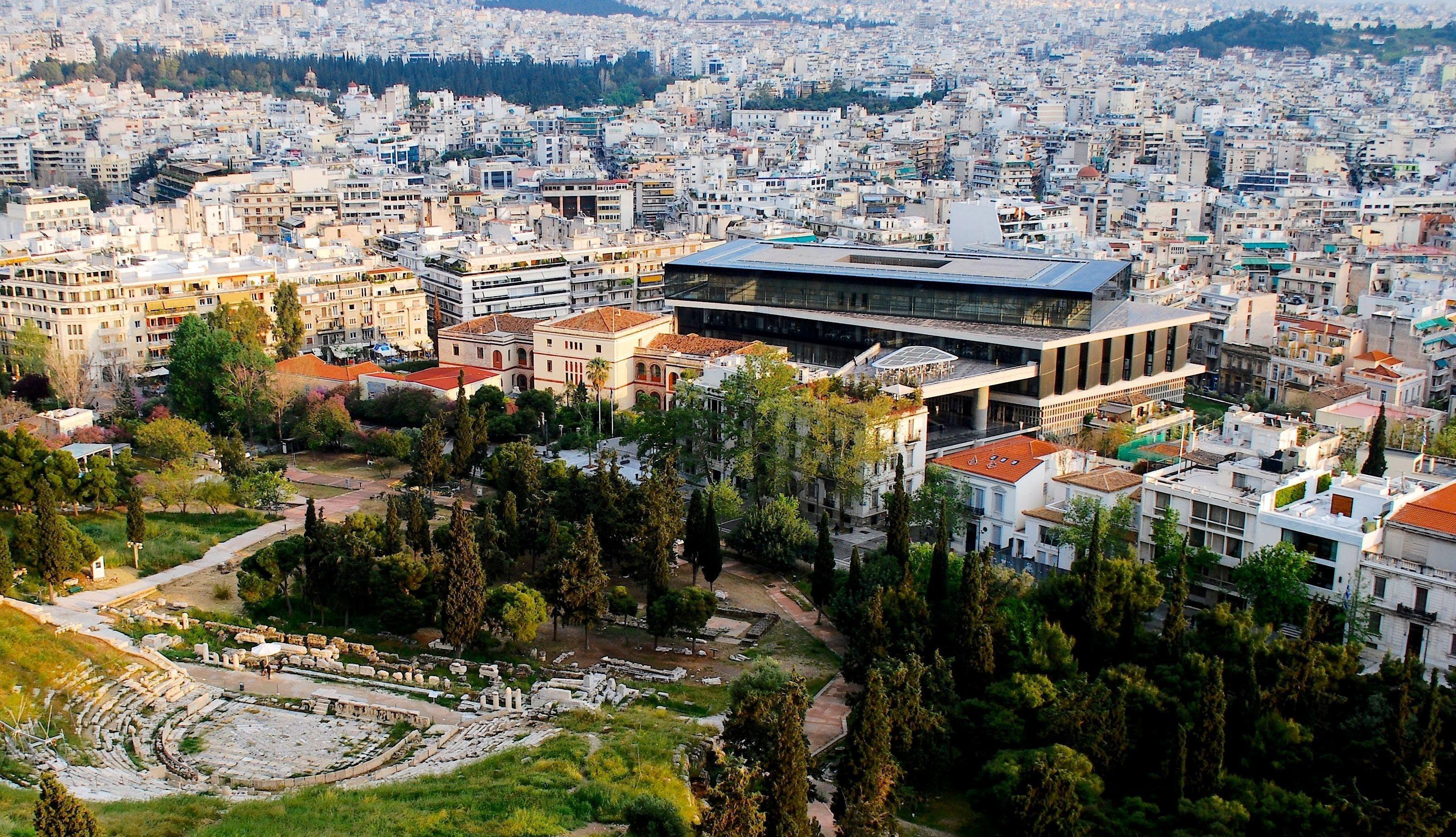 Akropolis Museum in Athen   griechenland.de