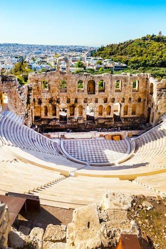 Amphitheater Akropolis, Athen | griechenland.de