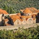 Burg in Mystras Griechenland