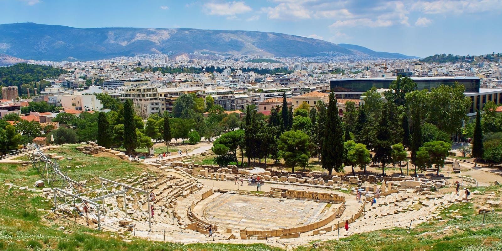 Dionysostheater, Athen   Griechenland.de