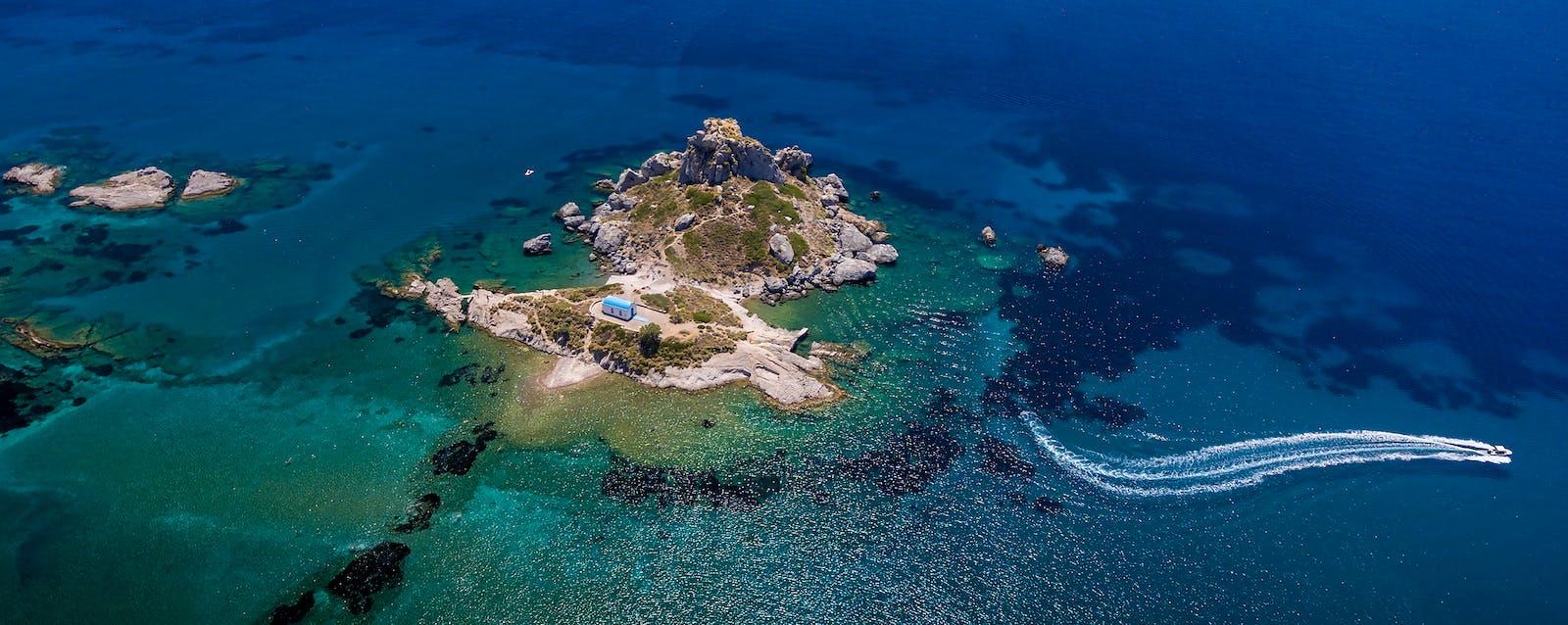 Insel Kastri bei Kefalos, Kos | Griechenland.de