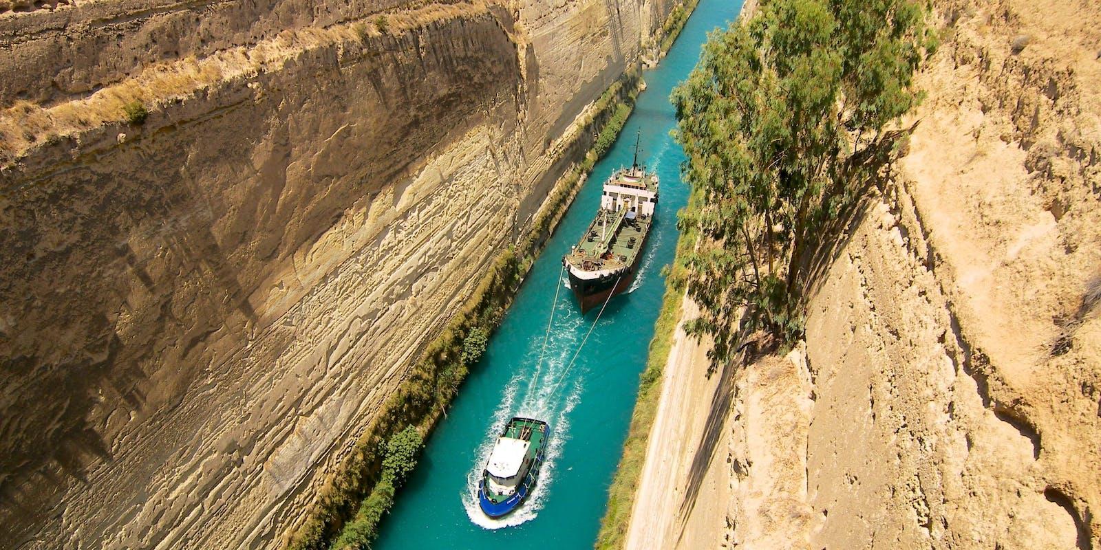 Kanal Von Korinth | griechenland.de