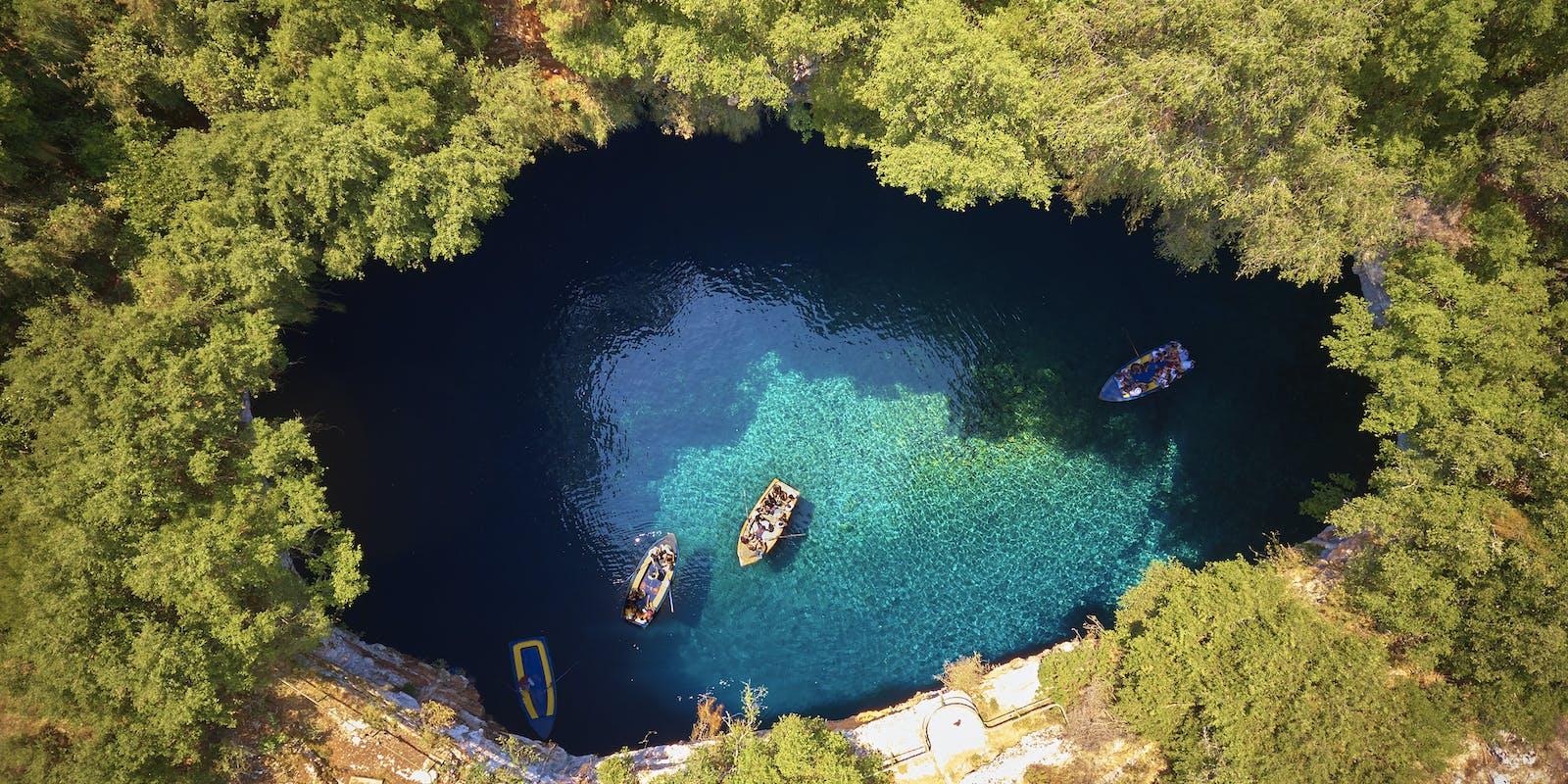 Melissani Höhle, Kefalonia | griechenland.de
