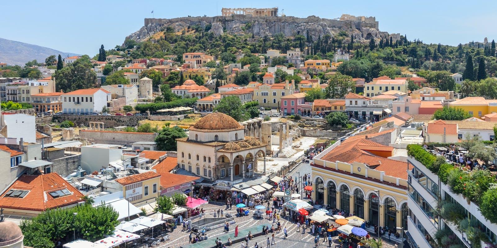 Monastiraki Athen | Griechenland.de