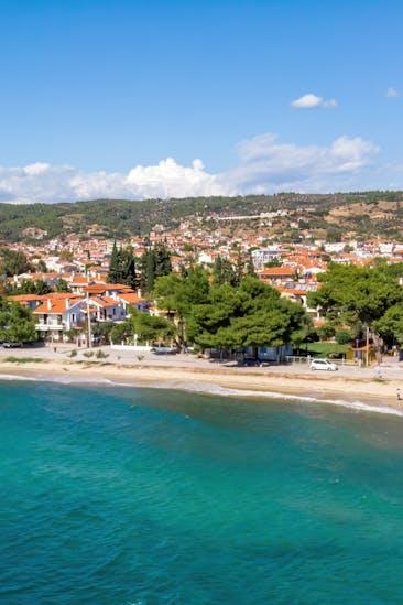 Nikiti mit Nikiti Beach, Sithonia, Chalkidiki | Griechenland.de