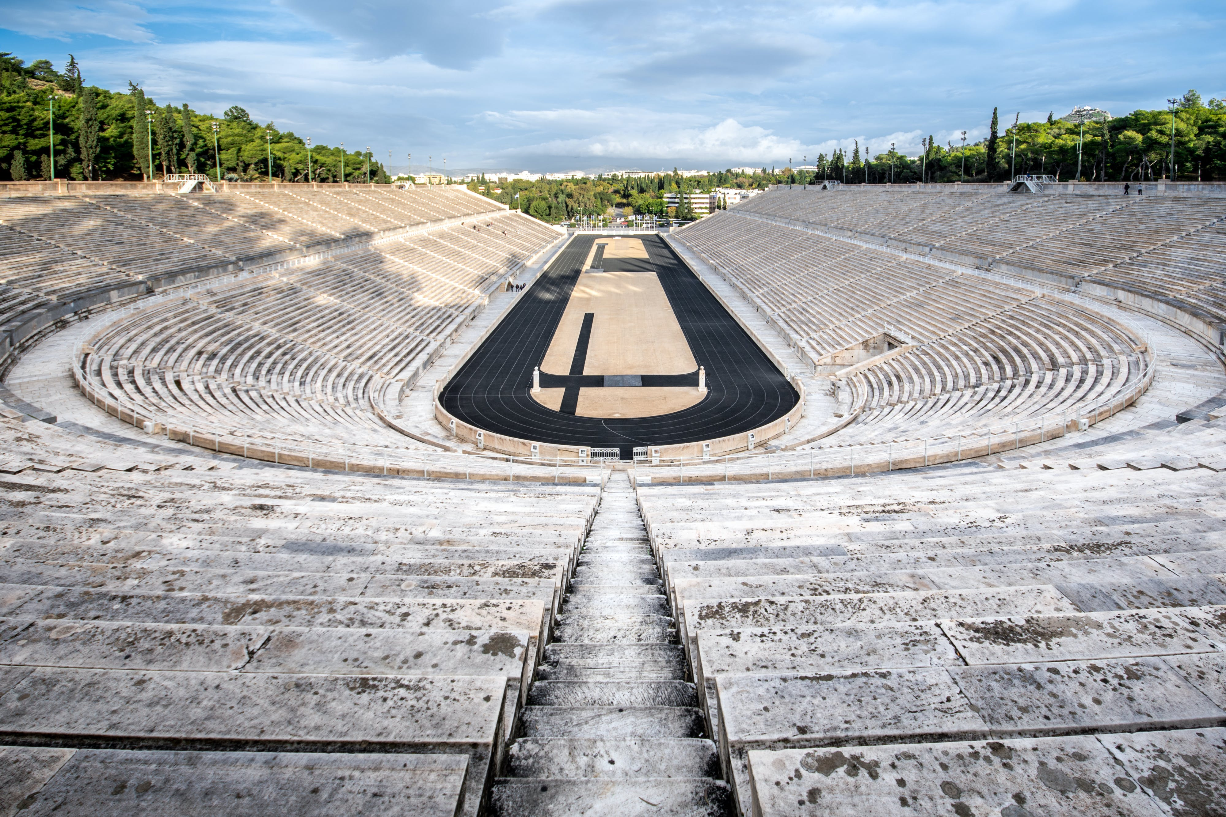 Olympia-Stadion in Athen   griechenland.de