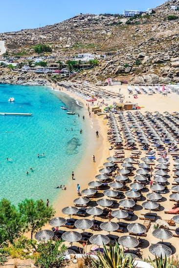 Paradise Beach, Mykonos | Griechenland.de