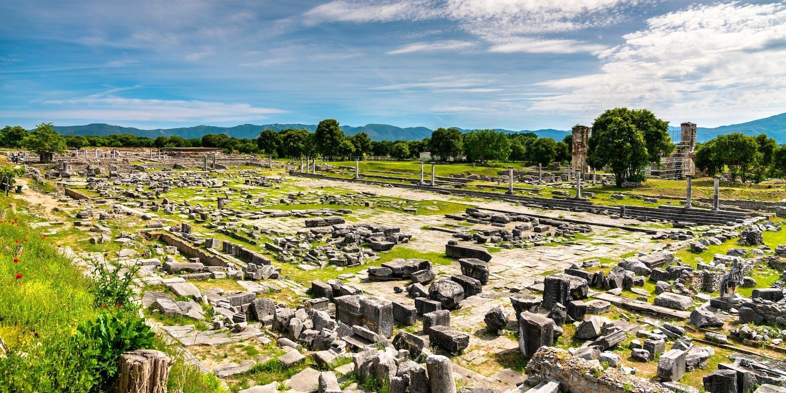 Philippi, Makedonien   Griechenland.de
