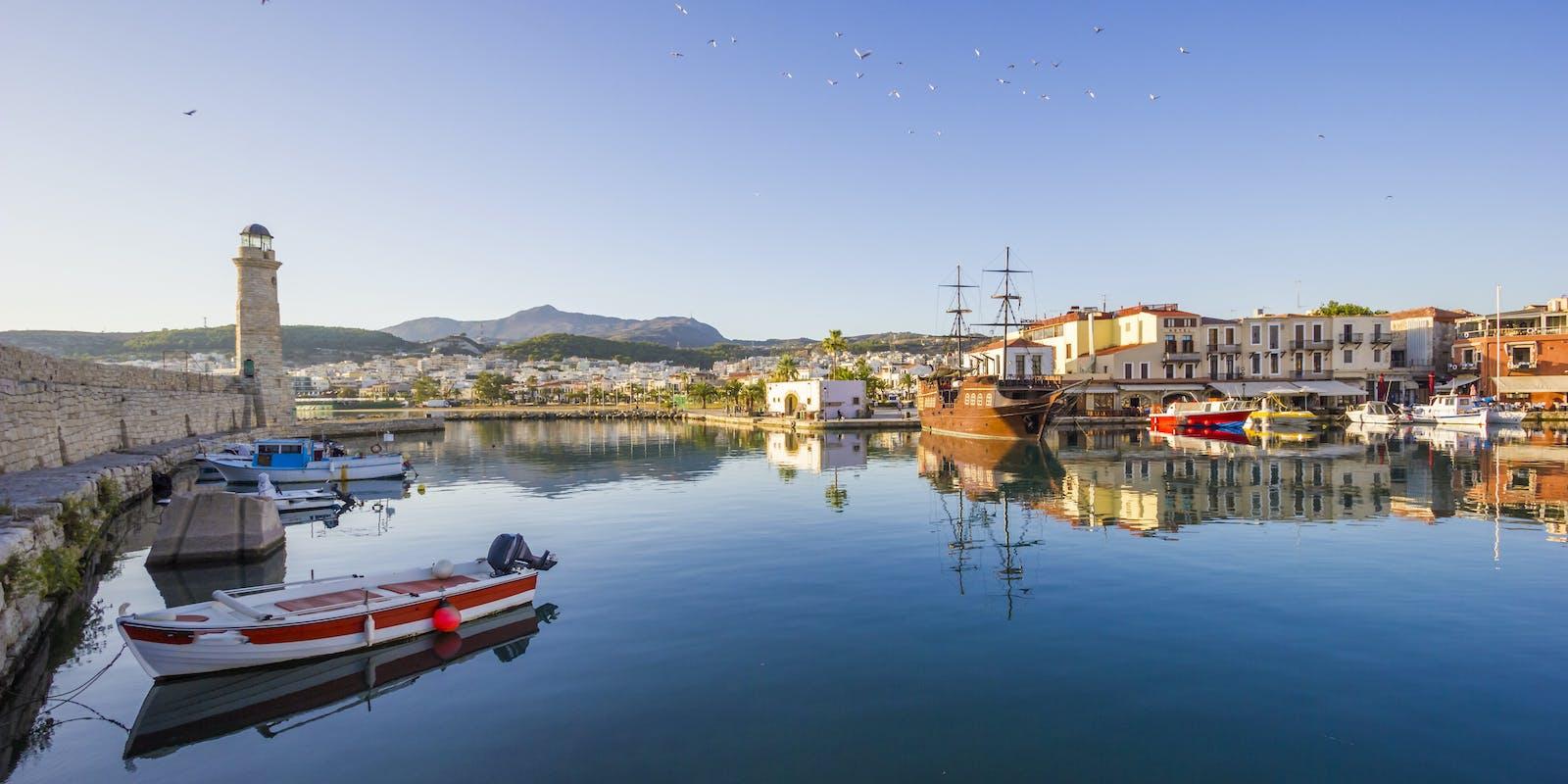 Hafen von Rethymno, Kreta | griechenland.de