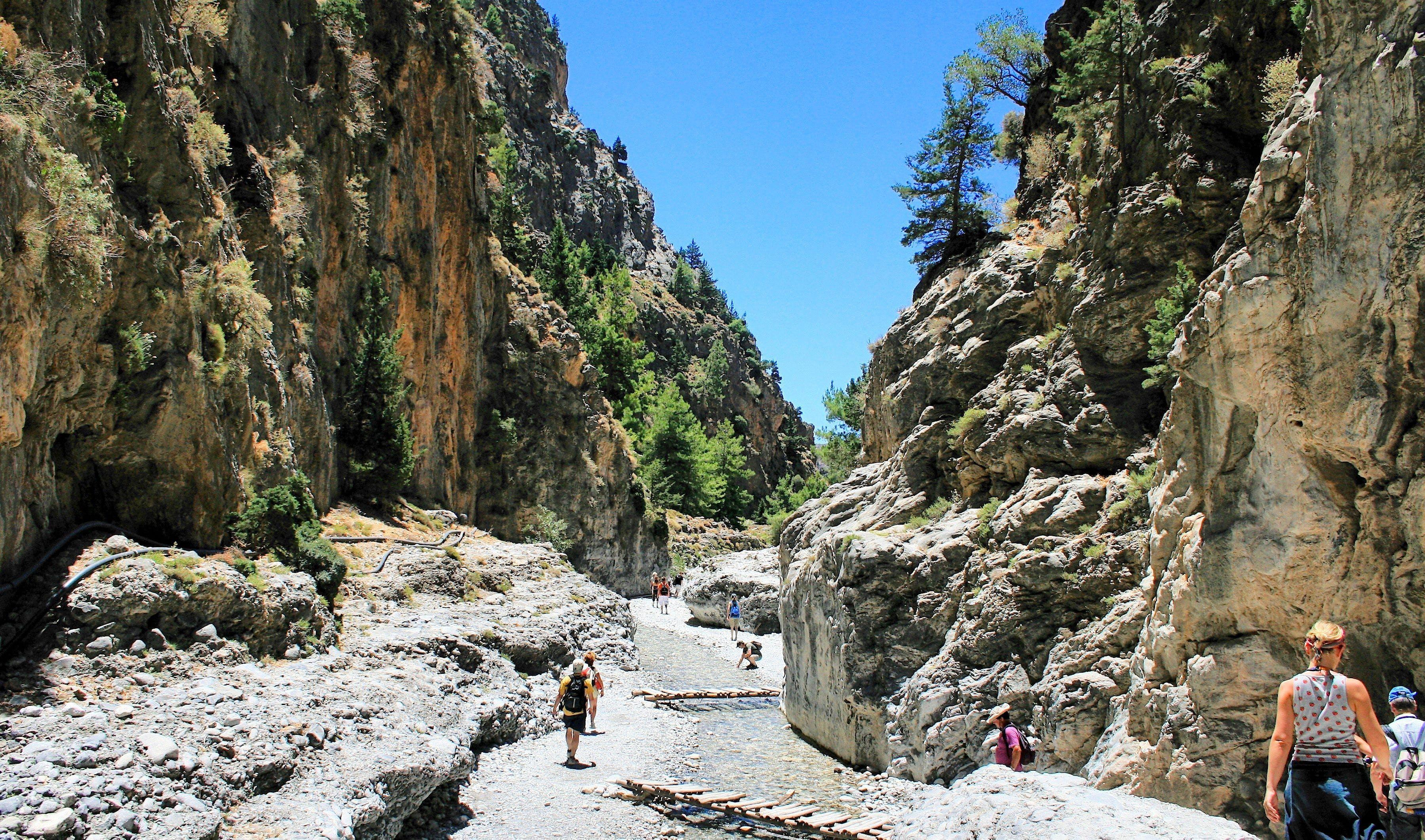 Samaria-Schlucht, Kreta   griechenland.de