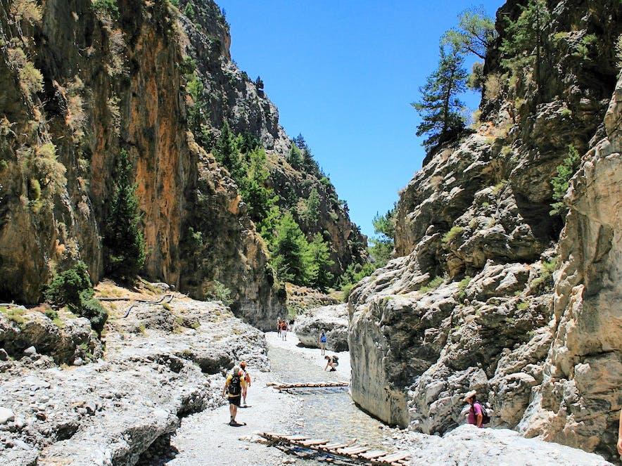 Samaria-Schlucht, Kreta | griechenland.de