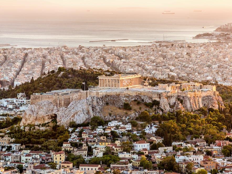Sonnenuntergang, Athen | griechenland.de