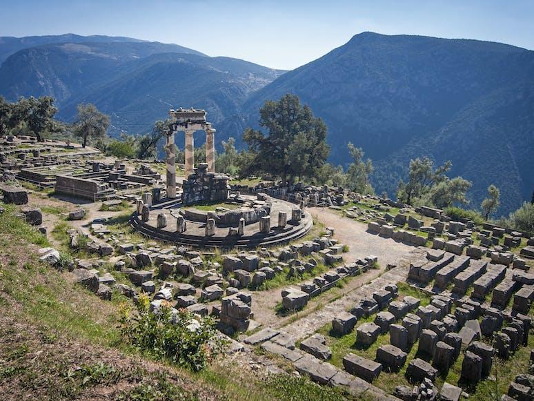 Tempel der Athene, Delphi | Griechenland