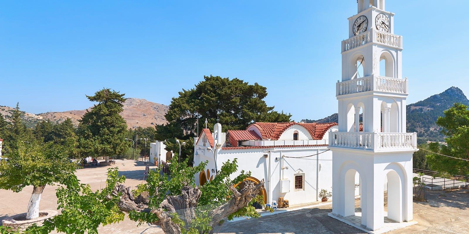 Tsambika Kloster, Rhodos   Griechenland.de