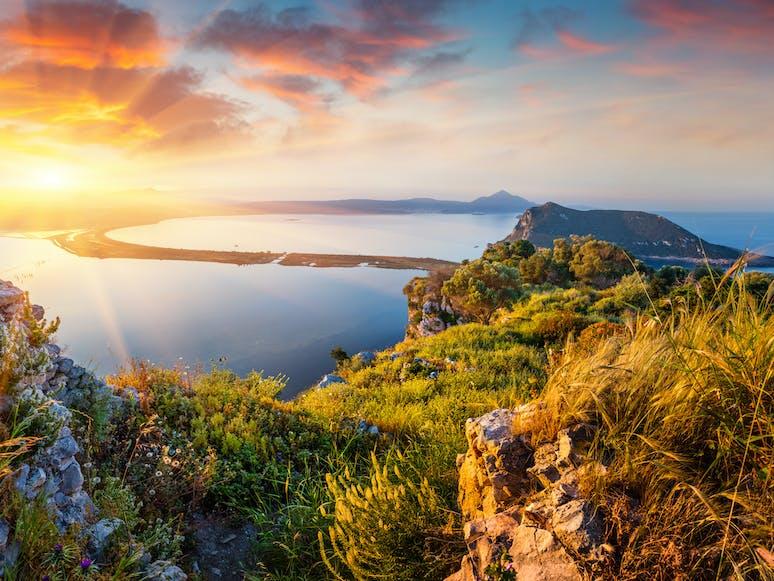 Voidokilia Beach, Peleponnes | griechenland.de