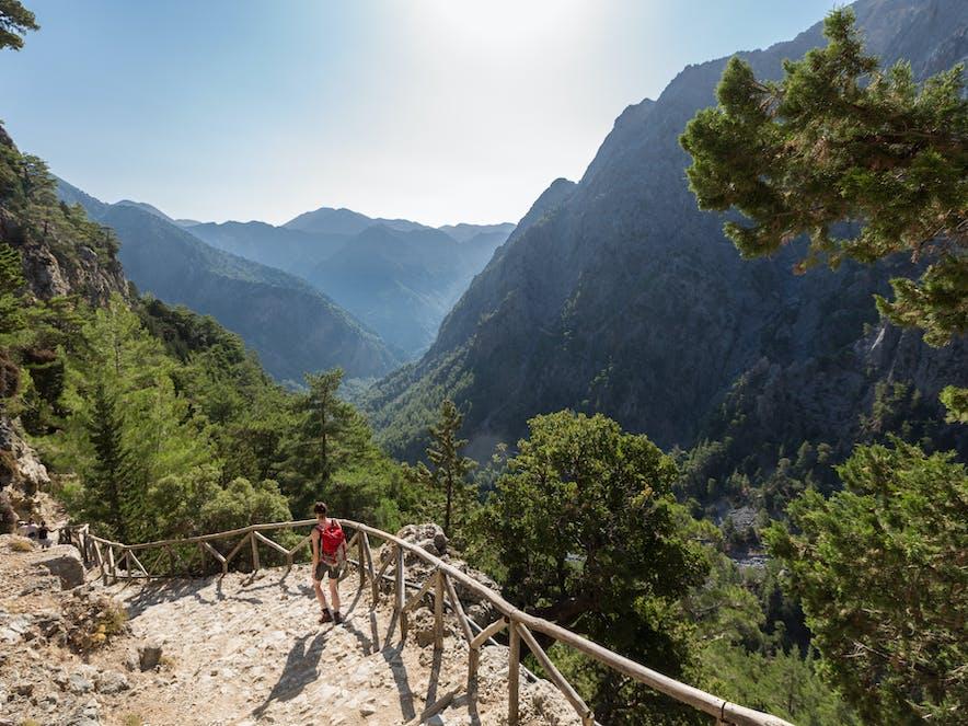 Wanderweg in der Samaria-Schlucht, Kreta | griechenland.de