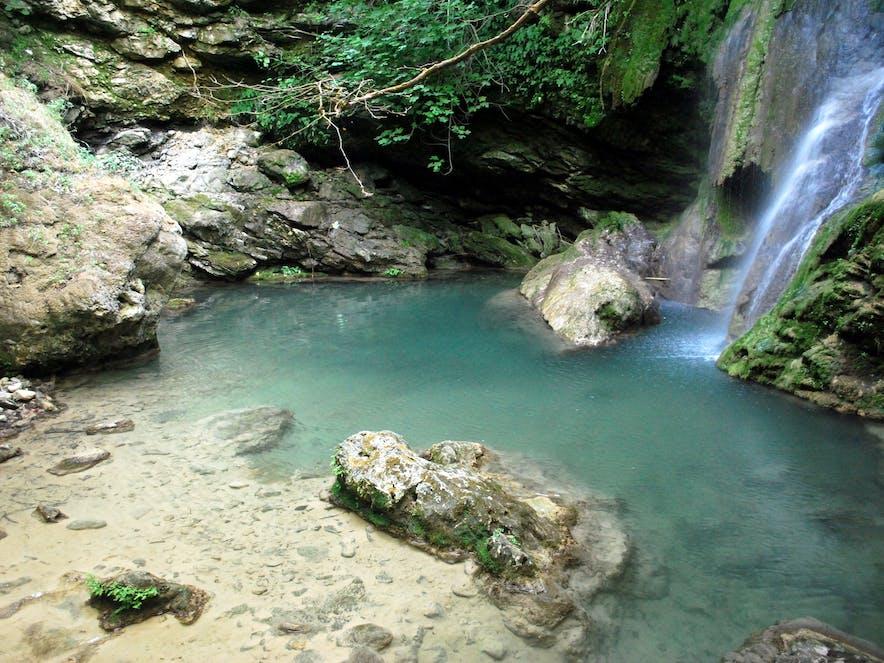 Wasserfall von Fonissa, Kythira   Griechenland.de